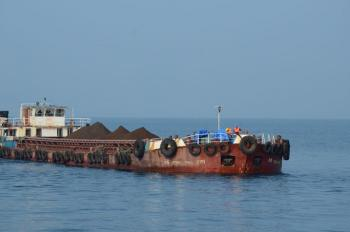 Barge Carrying Ore